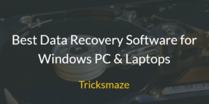Data Recovery Softwares