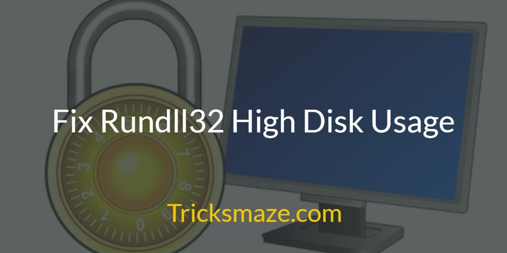 Windows Host Process Rundll32