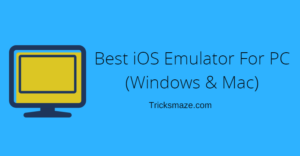 iOS Emulator For PC Download