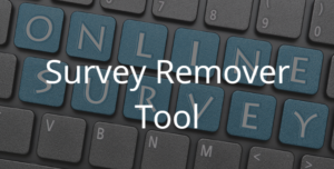 Survey Remover Tool