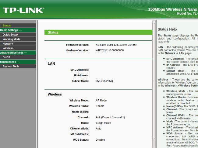TPlink Router Login