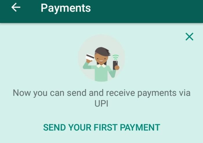 Whatsapp UPI Payments