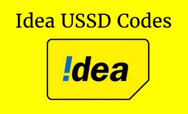 Idea USSD Codes