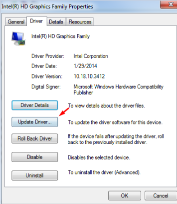 Updating Drivers for Kernel_security_Check_failure