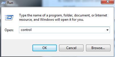 Windows Control Panel