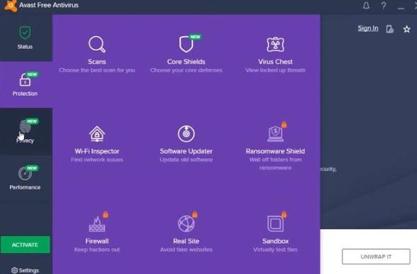 Avast Antivirus for Mac and Windows