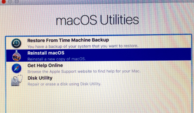 Reset Your MacBook Air