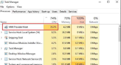 How to Fix WMI Provider Host Error in Windows 10