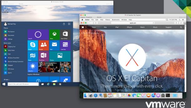 VMWare Fusion - Windows Emualtor for Mac