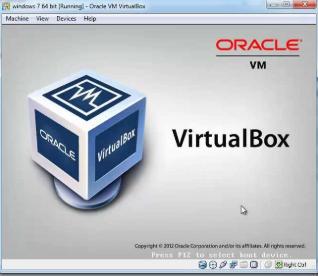 VirtualBox windows emulator