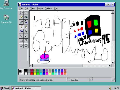 Windows 95 Online Emulator