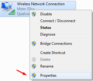 WiFI Properties
