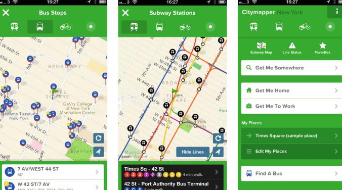 Citymapper best apple watch application